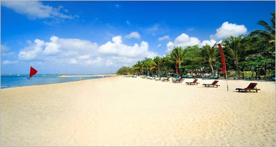 Pesona Pantai Matahari Terbit, Sanur Bali