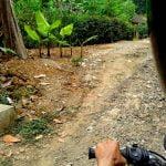 Perjalanan Ke Grojokan Sewu Kulon Progo memakai motor