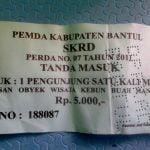 tiket masuk kebun buah mangunan