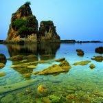Keindahan Lanskap yang mempesona di Pantai Sawarna Banten