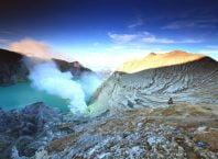 Pnorama Kawah ijen yang sangat mempesona
