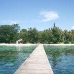 Beningnya Laut di Pulau Panjang