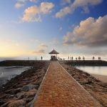 Tahun Baruan Dengan keindahan Pemandangan di Pantai Sanur