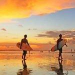 Tahun Baruan di Pantai Kuta Yang Mempesona