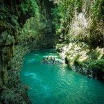menakjubkanya green canyon yang ada di Indonesia