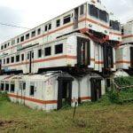 Kuburan Kereta yang ada di stasiun Purwakarta