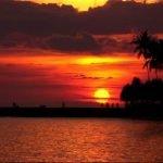 sunset kuta lombok