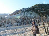 Menilik Pesona Hutan Mati di Gunung Papandayan Garut