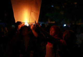 Menilik Kemeriahan Festival 1000 Lampion Terbang Kulon Progo, Yogyakarta
