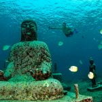 Menakjubkanya Pesona Candi Bawah Laut Pemuteran Bali