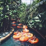 lazy river waterbom bali