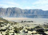 View mendekati puncak Gunung Bromo