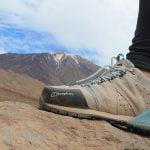 Sepatu Gunung Dengan Sirkulasi Udara yang Baik