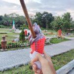 Es Krim Di Merapi park jogja