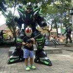 Ajak Si Buah Hati bertemu Jagoannya di Taman Super Hero