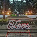 Taman balai Kota Bandung Yang Romantis