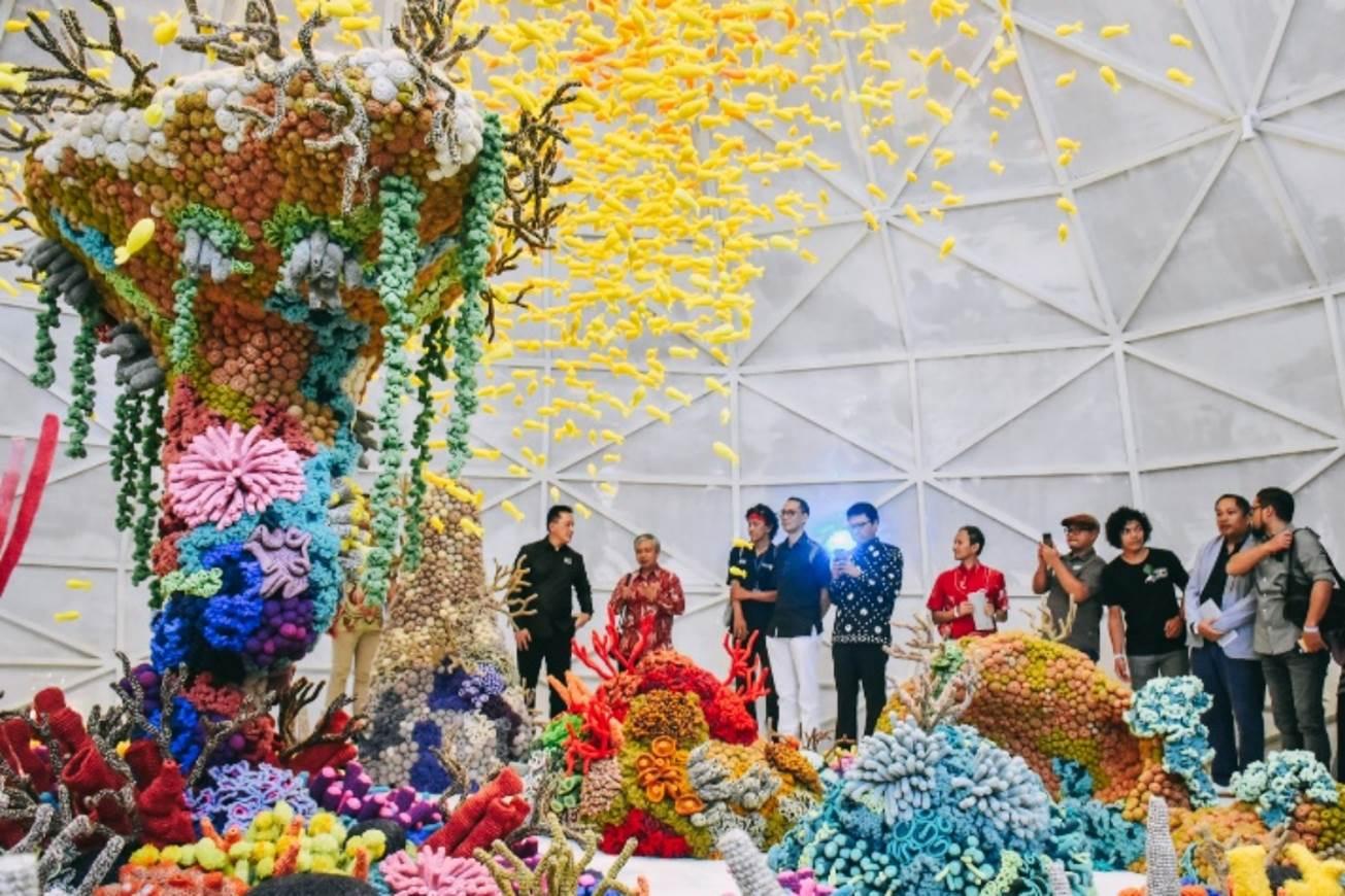 Meriahnya Pembukaan Artjog 2018 Di Jogja National Museum