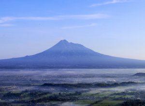 Gunung Merapi, Image By : twitter.com/humas_jogja