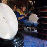Pusat Pembuatan Bedug Dan Rebana, Image By : seputar-jateng.com
