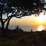 Indahnya Sunset di Saren Cliff Point, Image By IG : @melissimard