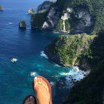 Saren Cliff Poin Nusa Penida, Image By IG : @celine_habegger