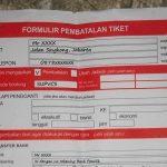 formulir pembatalan tiket kereta