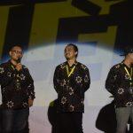 official Dok FKY 30 - ketiga ketua FKY (Setyo Harwanto, Ishari Sahida, dan Roby Setiawan) saling berbagi cerita, kenangan, dan pengalaman menjadi ketua panitia FKY 25- FKY 30
