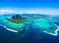 Air Terjun di Dalam Laut di Negara Mauritius, Image By : www.sunresortshotels.com