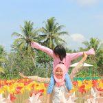 Keseruan di Taman Dewari Megelang, Photo By IG : @kanechan77