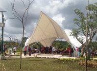 Taman Bendungan Kamijoro Yang Lagi Hits, Image By : Andri