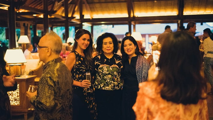 Guests from various circles shared their moments in the iconic lobby of the Hyatt Regency Bali