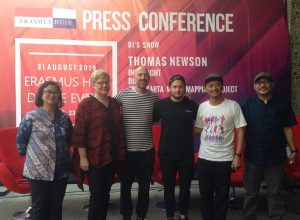 Press Conference Erasmus Huis Dance Event Yogyakarta