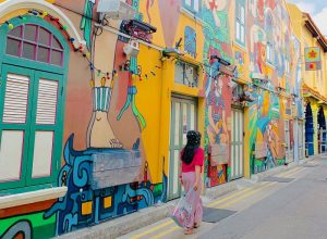 Mural HAji Lane, Photo By : @enchagram