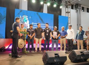 Pembukaan Indonesia Scooter Festival 2019,sumber foto: official dokumentasi ISF #3 (Ary)