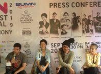 Perwakilan artis yang hadir di Press Conference Balkonjazz Festival