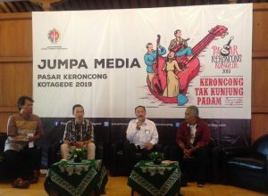 Press Conference Pasar Keroncong 2019, Photo : Andri
