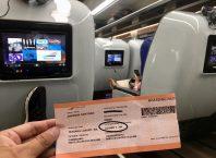 Tempat duduk Kereta api Luxury Image By : Andrew Santoso (IG @andrew_transportation_gallery