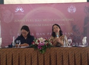 GKR Bendoro dan GKR Hayu di Press Conference