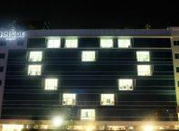 Innside by Melia Bersama 50 Lebih Hotel Menyalakan Lampu Hotel Membentuk Hati