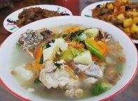Resep Sop Ayam Bening, image by IG : @melanumey