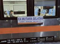 Kereta Api Mutiara Selatan, Photo by IG : @imanssulaimaan_