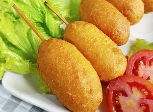 resep corn dog, image by IG : @nawang_okta