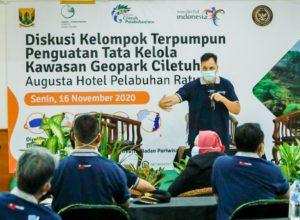 Kemenparekraf Dorong Sinergi Tata Kelola Destinasi Geopark Ciletuh