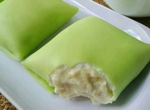 Resep Pancake Durian, image by IG : @herawaty_lu
