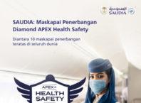 Saudi Arabian Airlines (SAUDIA) Menerima Diamond Status Untuk Kesehatan Keselamatan Penerbangan