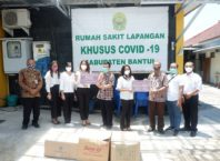 Donasi untuk Puskesmas Bambanglipuro Bantul sebagai RS Lapangan Covid19-min