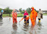 Ilustrasi Banjir di Stasiun Tawang