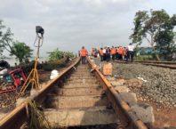 Jalur Kedunggedeh - Lemahabang Masih Dalam Perbaikan, Perjalananan KA 22 Februari Belum Beroperasi-min
