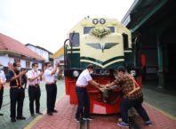 Peluncuran lokomotif CC 201 dengan livery vintage, photo : KAI.id