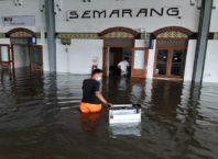 Stasiun Tawang Semarang banjir, photo by : Humas PT KAI Daops IV Semarang